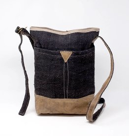 Ganesh Himal Hemp & Leather Purse