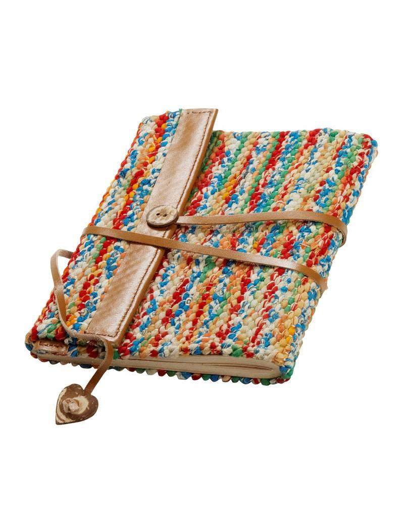 Prokritee Woven Sari & Leather Journal