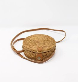 Zen-Zen Mini Atta Moon Woven Purse