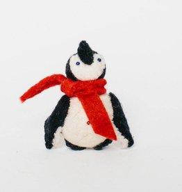 Little City Penguin Ornament