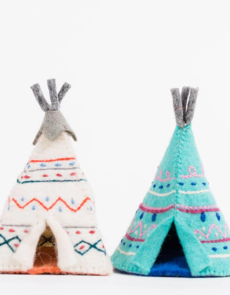 Craftspring Anceint Wisdom Teepee Ornament