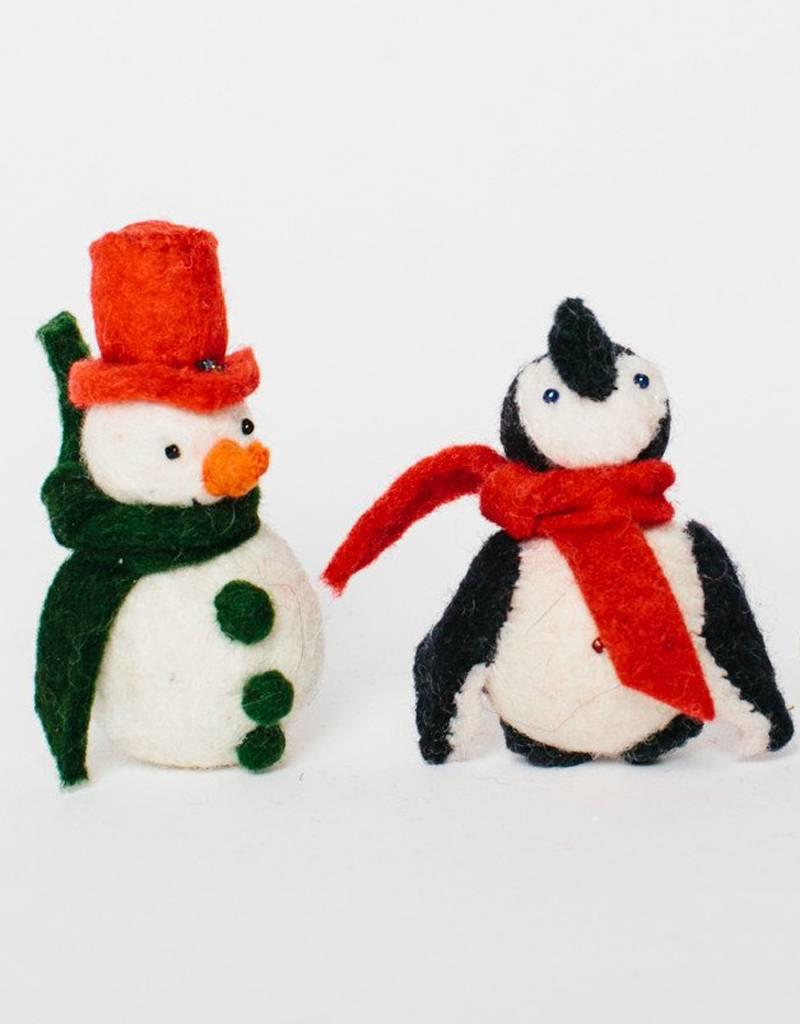 Craftspring Little City Penguin Ornament