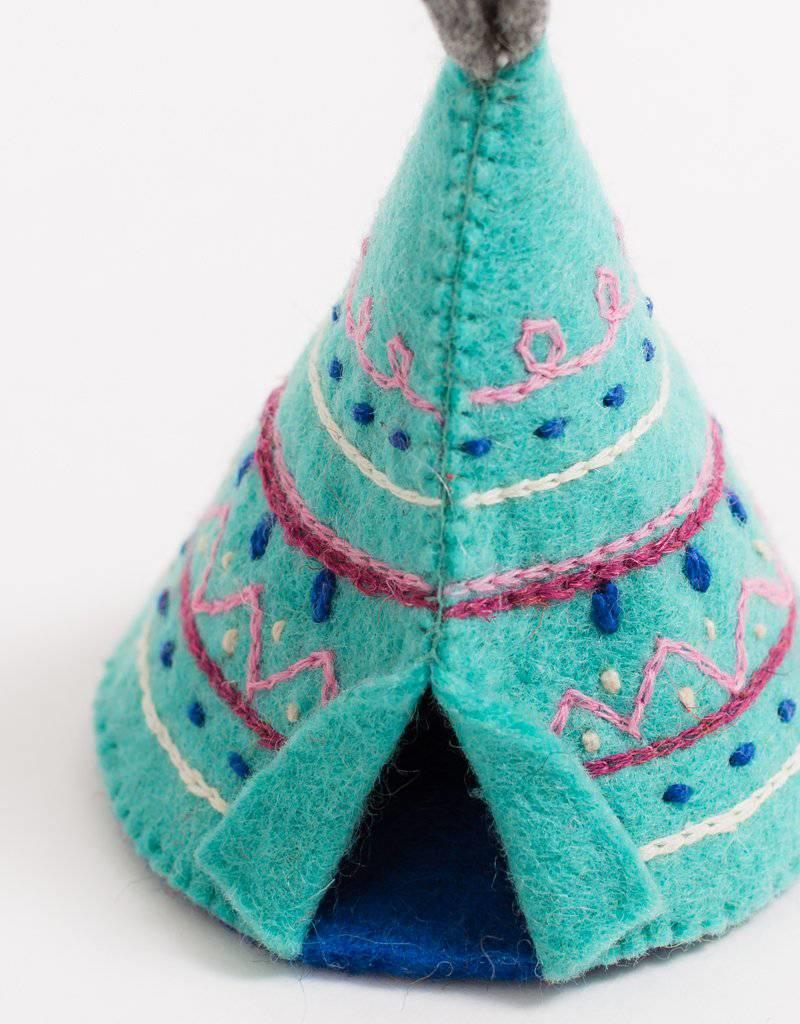 Craftspring Summer Nights Teepee Ornament