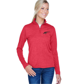 Alpha Shirt Company Women's Red Athletic Pullover