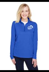 Alpha Shirt Company Women's Fresh Royal Blue Athletic Pull-over