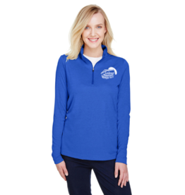 Alpha Shirt Company Women's Fresh Royal Blue Athletic Pull-over