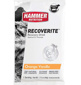 Hammer Nutrition RECOVERITE ORANGE-VANILLA SINGLE SERV