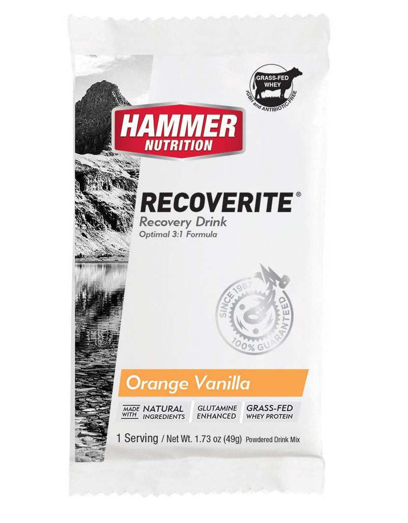 Hammer Nutrition RECOVERITE ORANGE-VANILLA SINGLE SERV