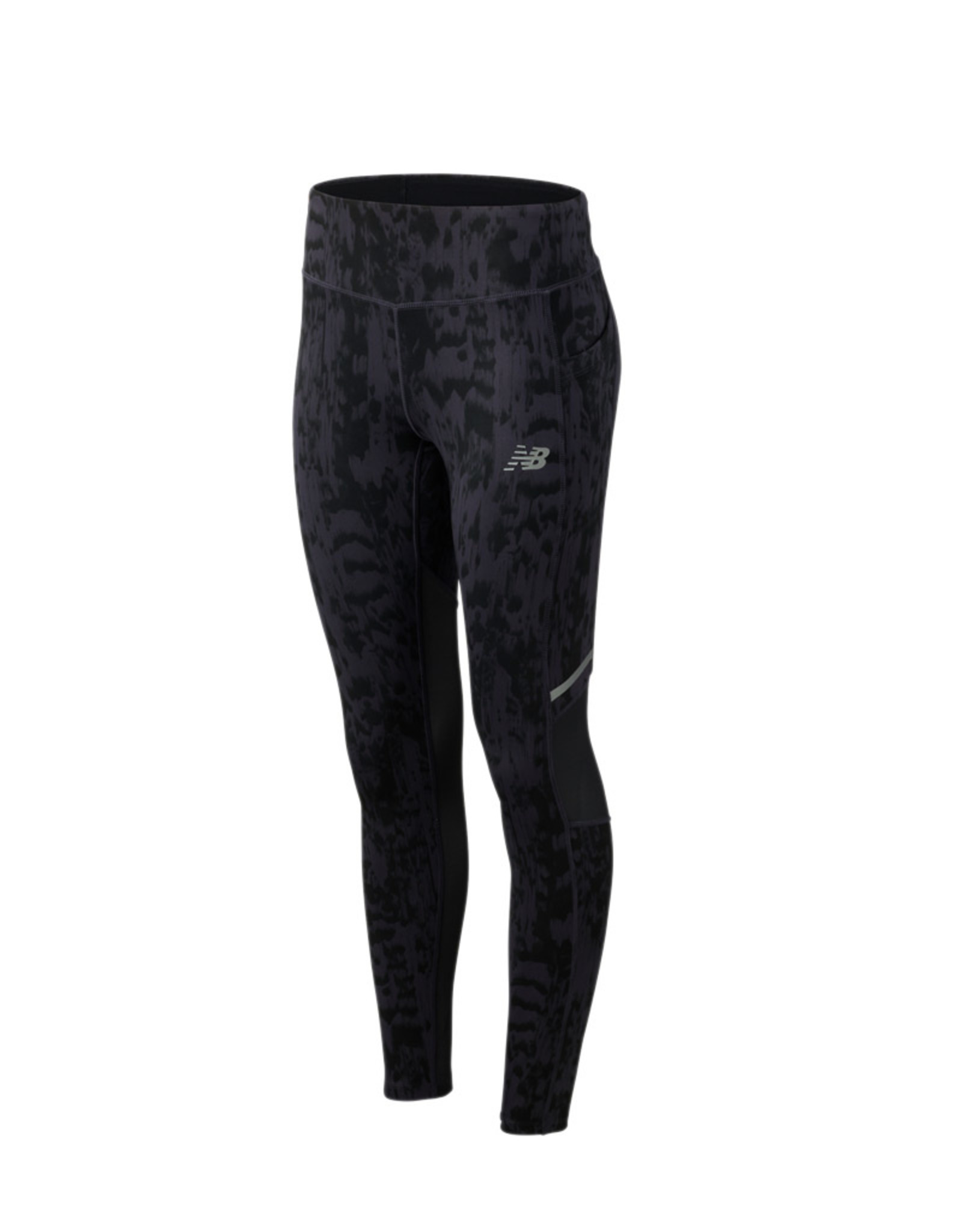 NEW BALANCE WMNS PRINTED IMPACT TIGHT
