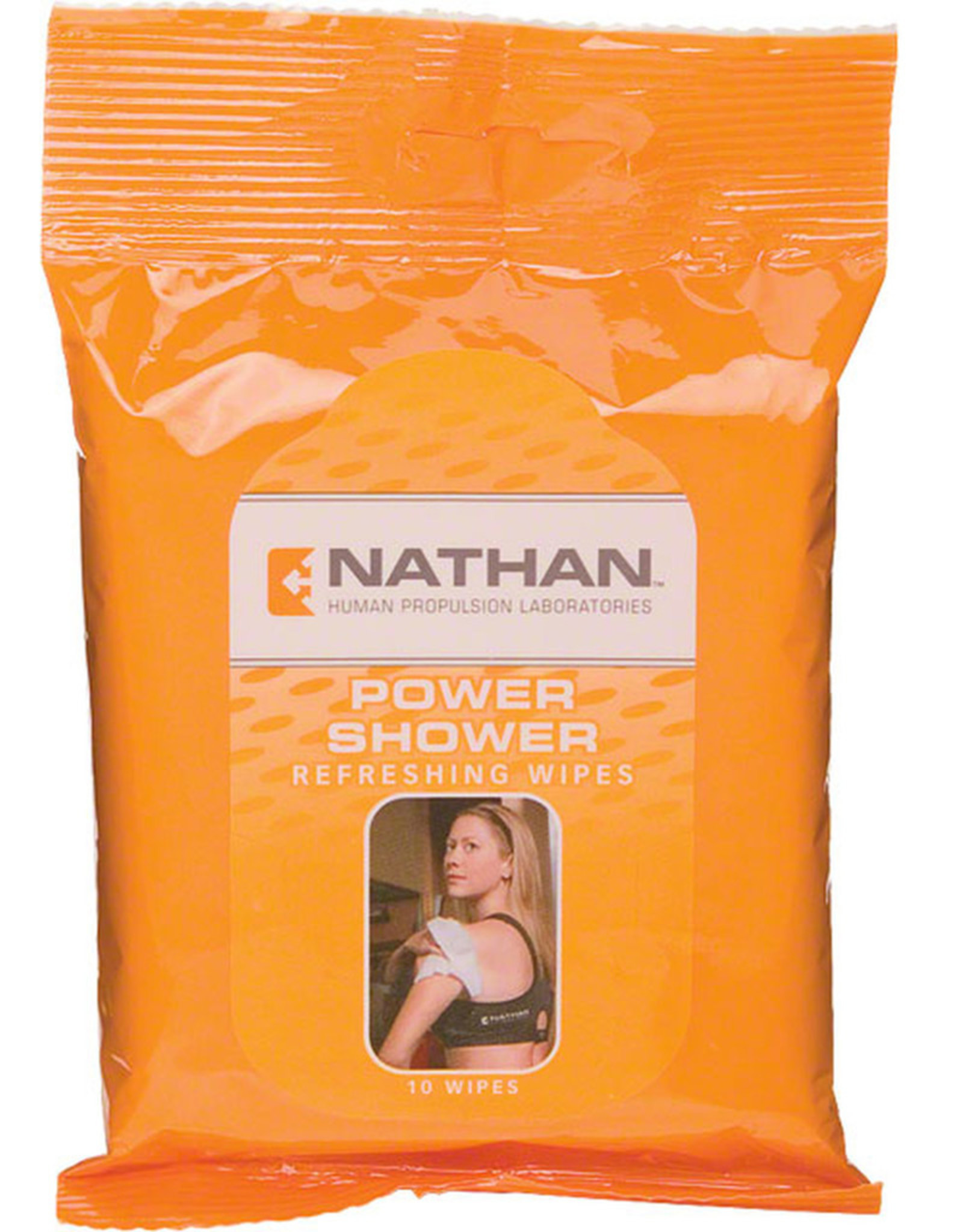 NATHAN POWER SHOWER BODY WIPES