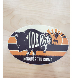 KONQUER THE KONZA STICKER