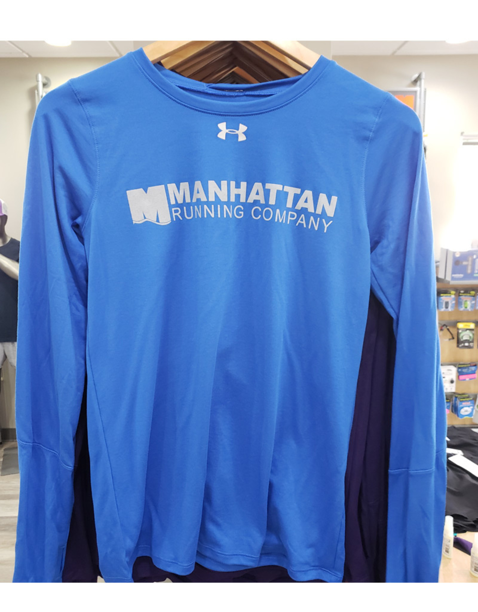 UNDER ARMOUR W Locker Tee LS 2.0 (MRC LOGO)