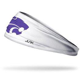 Junk Kansas State University: Wildcat White Headband