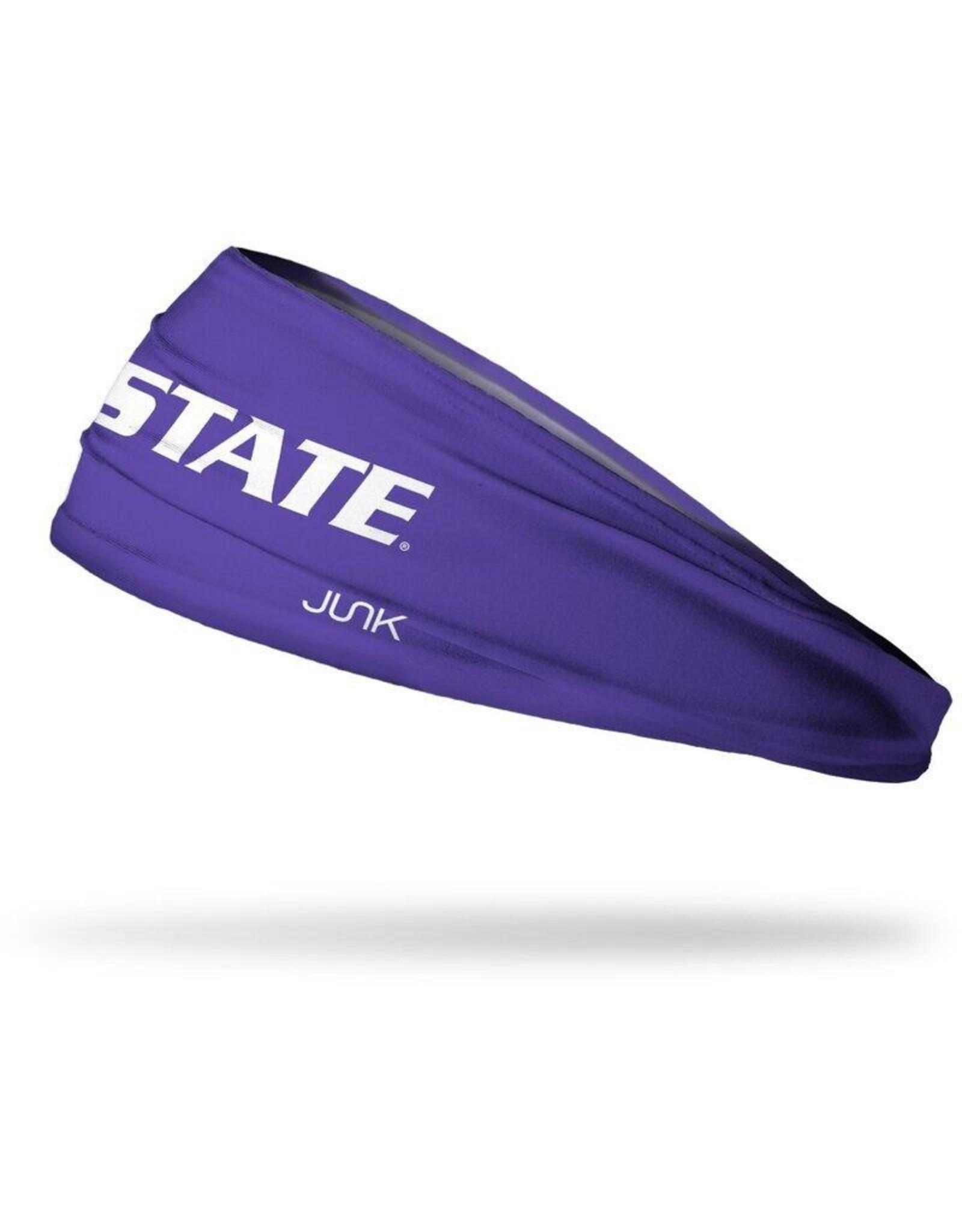 Junk Kansas State University: Wordmark Purple Headband