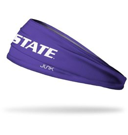 Junk Kansas State University: Wordmark Purple Headband