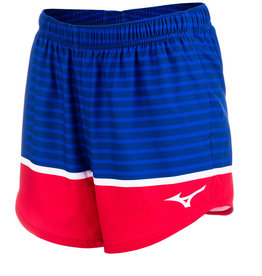 "Mizuno WOMEN'S PATRIOTIC 5"" SHORT"