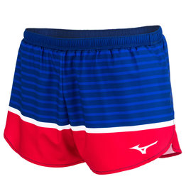 "Mizuno WOMEN'S PATRIOTIC 2.5"" SHORT"