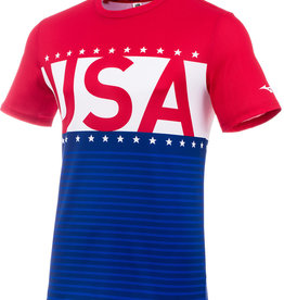 Mizuno MEN'S PATRIOTIC SHORT SLEEVE