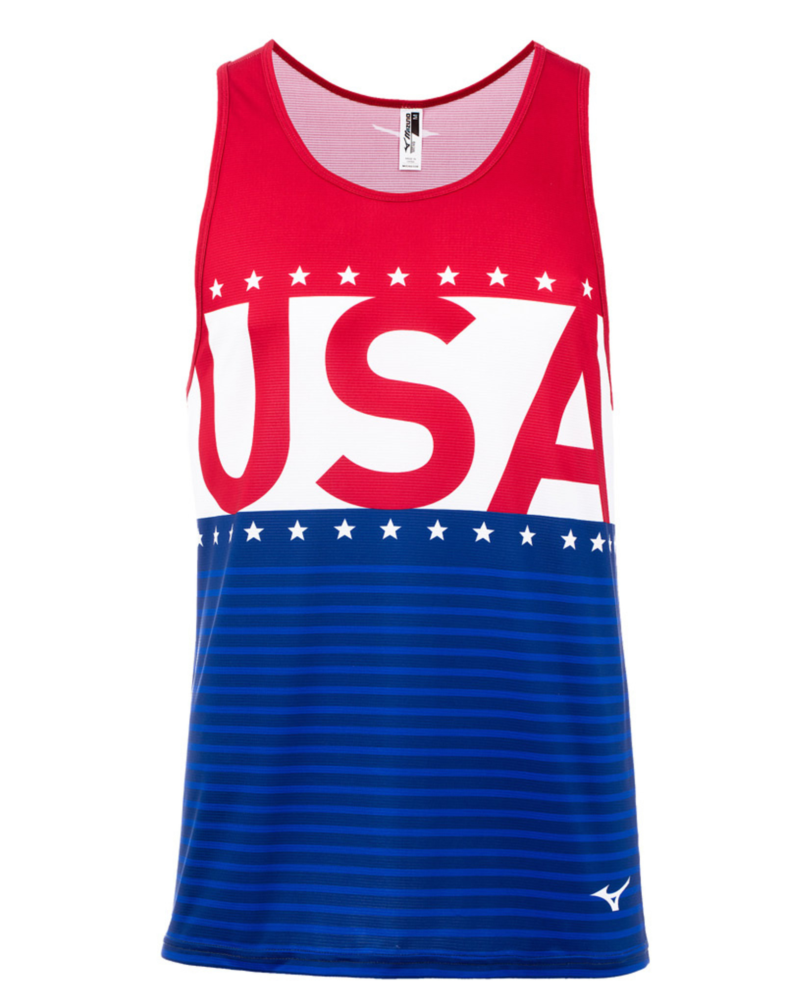 Mizuno MEN'S PATRIOTIC SINGLET