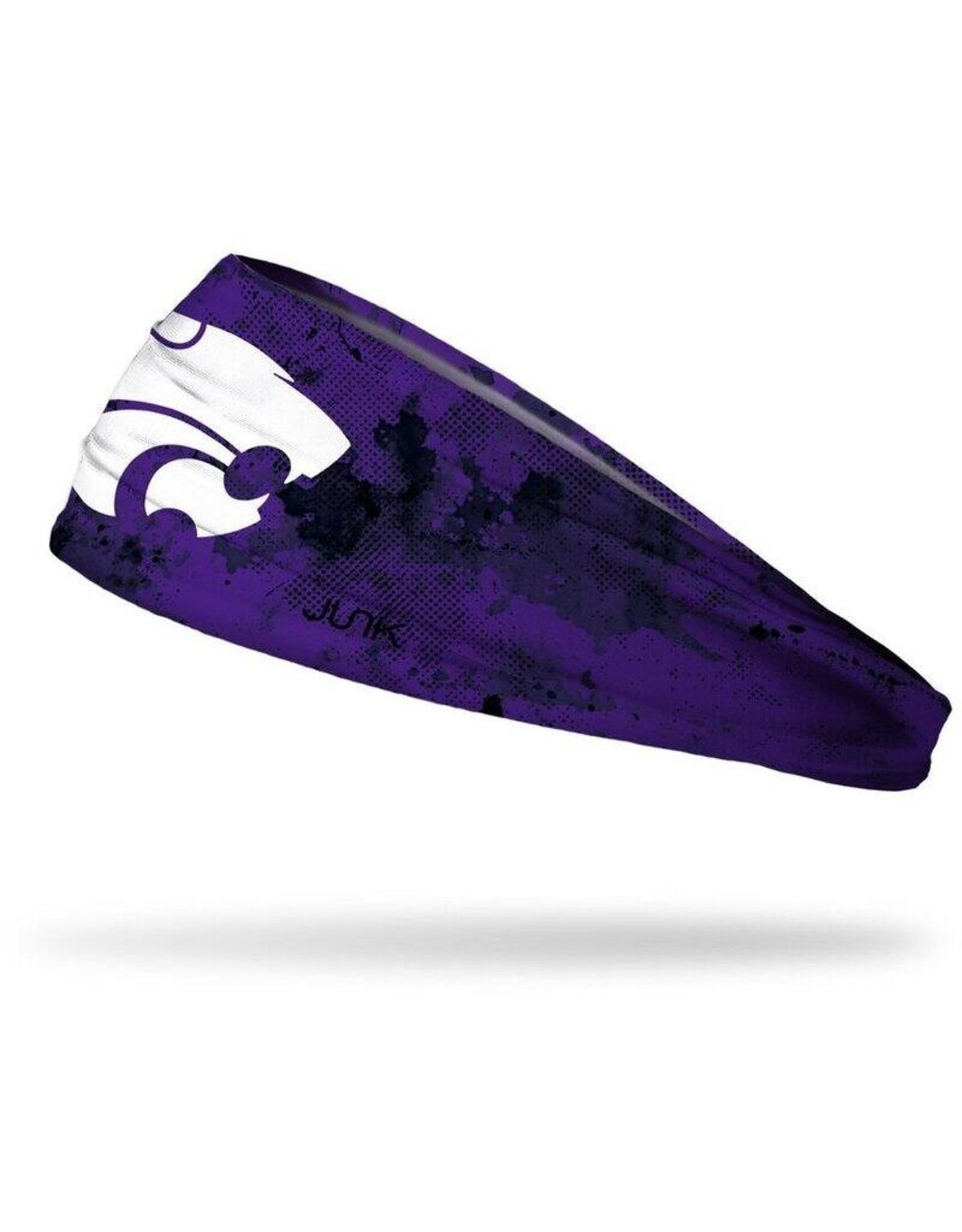 Junk KSU Grunge Purple Headband