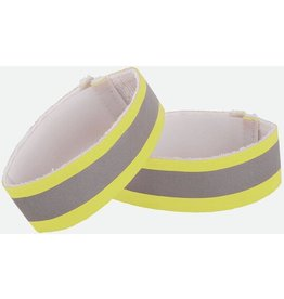 NATHAN REFLECTIVE ANKLE YELLOW