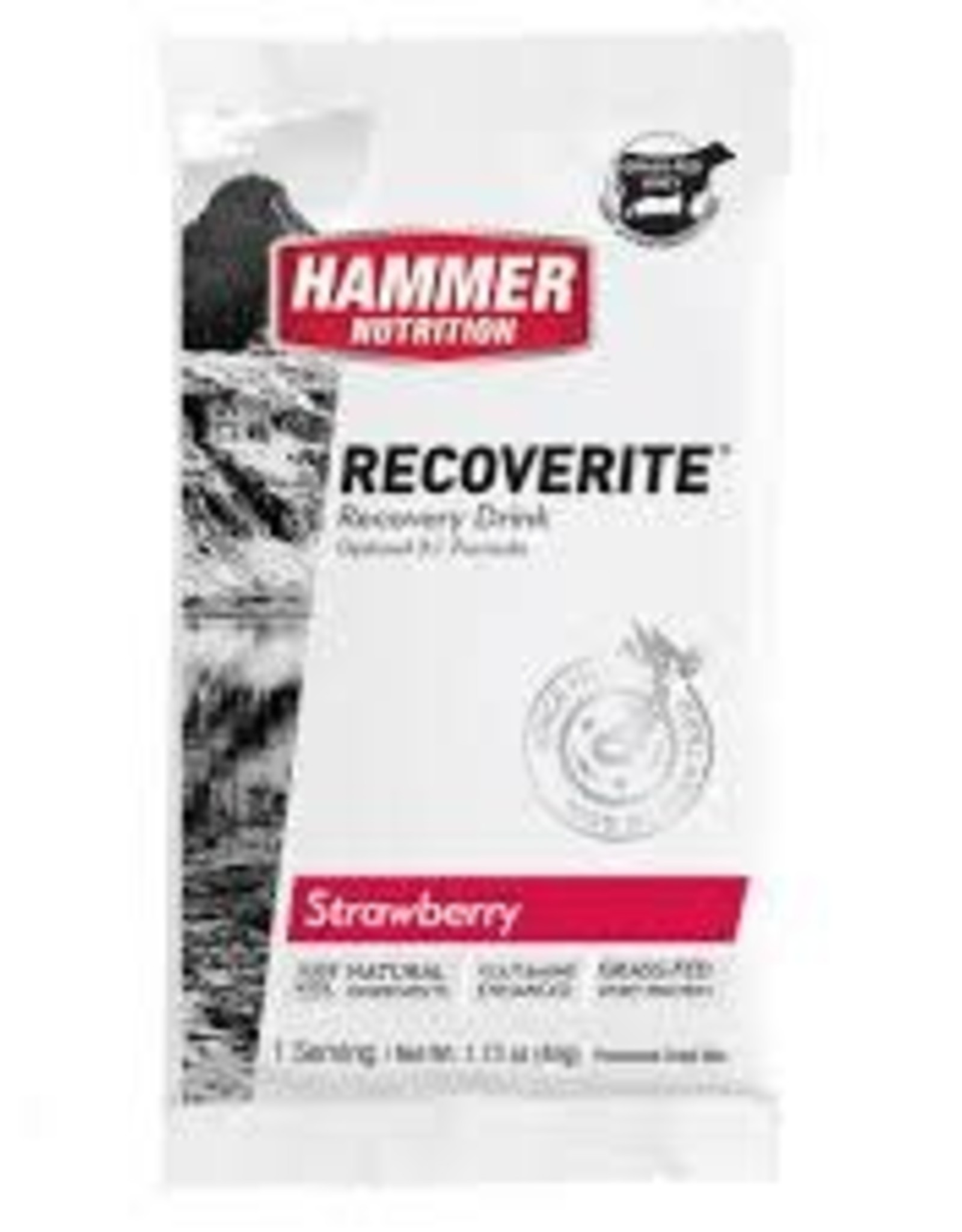 Hammer Nutrition RECOVERITE STRAWBERRY SINGLE SERV