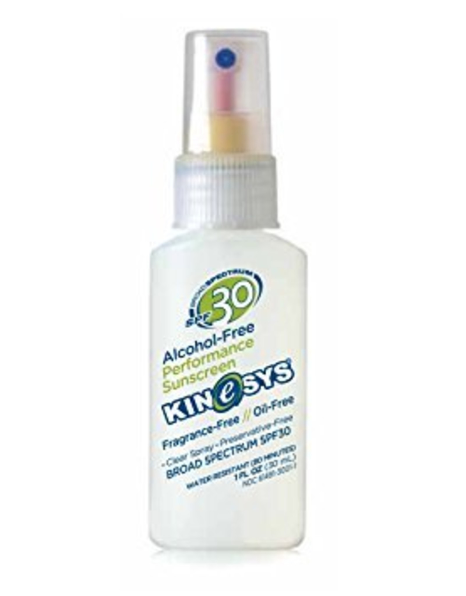 KINESYS FRAGRANCE FREE SPF 30 1 OZ