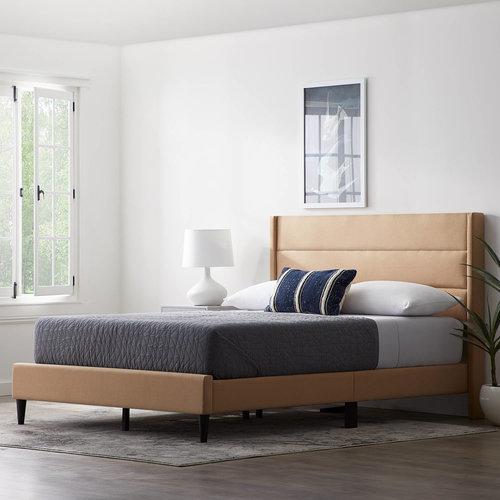 WEEKENDER Beck Upholstered Platform Bed - Queen