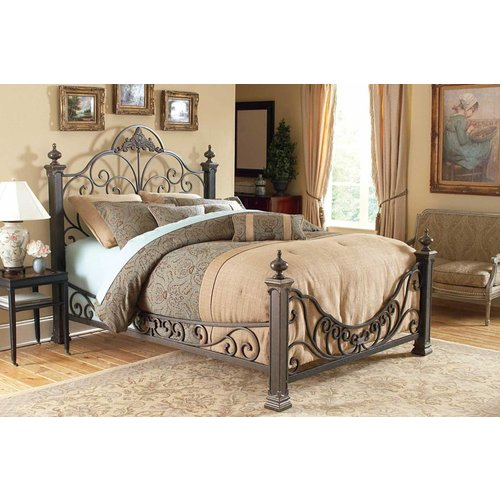 Fashion Bed Group Baroque Bed - Queen
