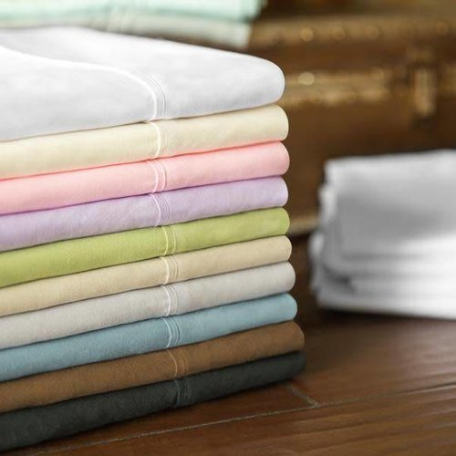 MALOUF WOVEN  Brushed Microfiber Sheet Set - Split King