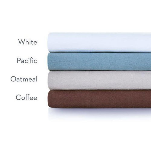 MALOUF WOVEN Portugese Flannel Sheet Set - Split King