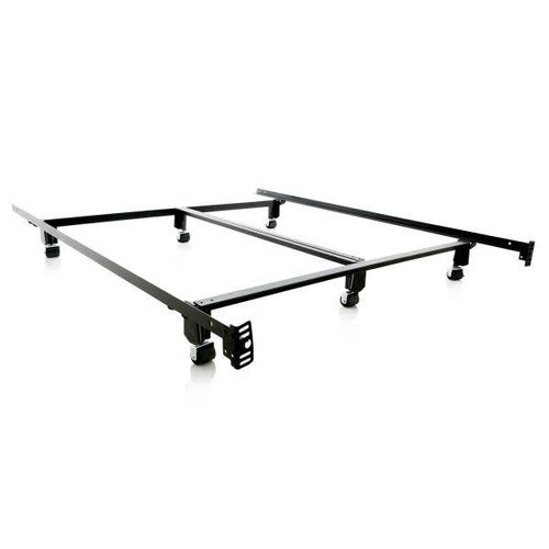 MALOUF Steel Lock Bed Frame - Full
