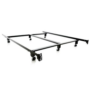MALOUF Steel Lock Bed Frame - Queen