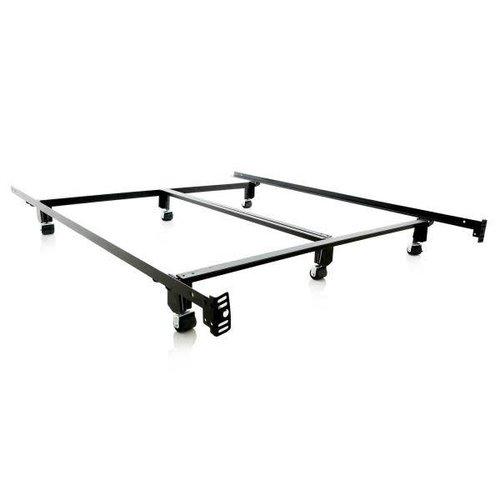 MALOUF Steel Lock Bed Frame - California King