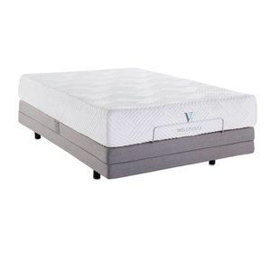 "Wellsville Wellsville 11"" Gel Memory Foam - Split King"