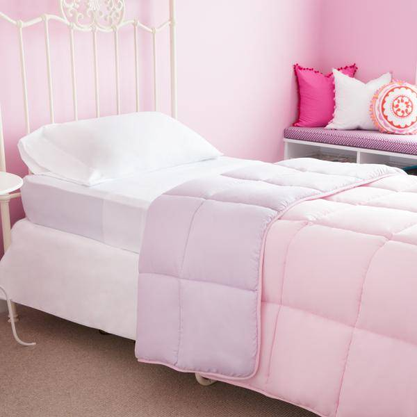Woven Bed In A Bag Split King Lilac Blush Accessories