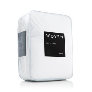 MALOUF WOVEN Bed-In-A-Bag - Split King White