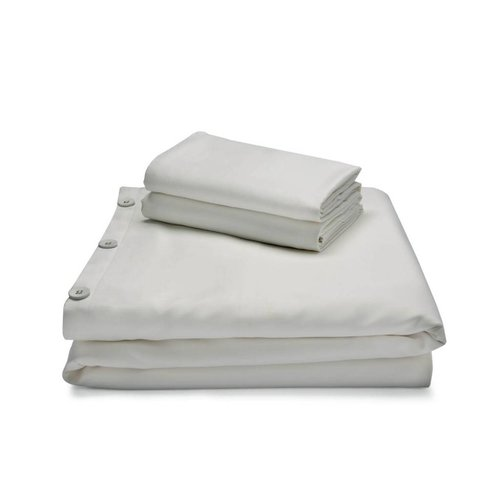 MALOUF WOVEN Bamboo Duvet Cover Set - King Ash