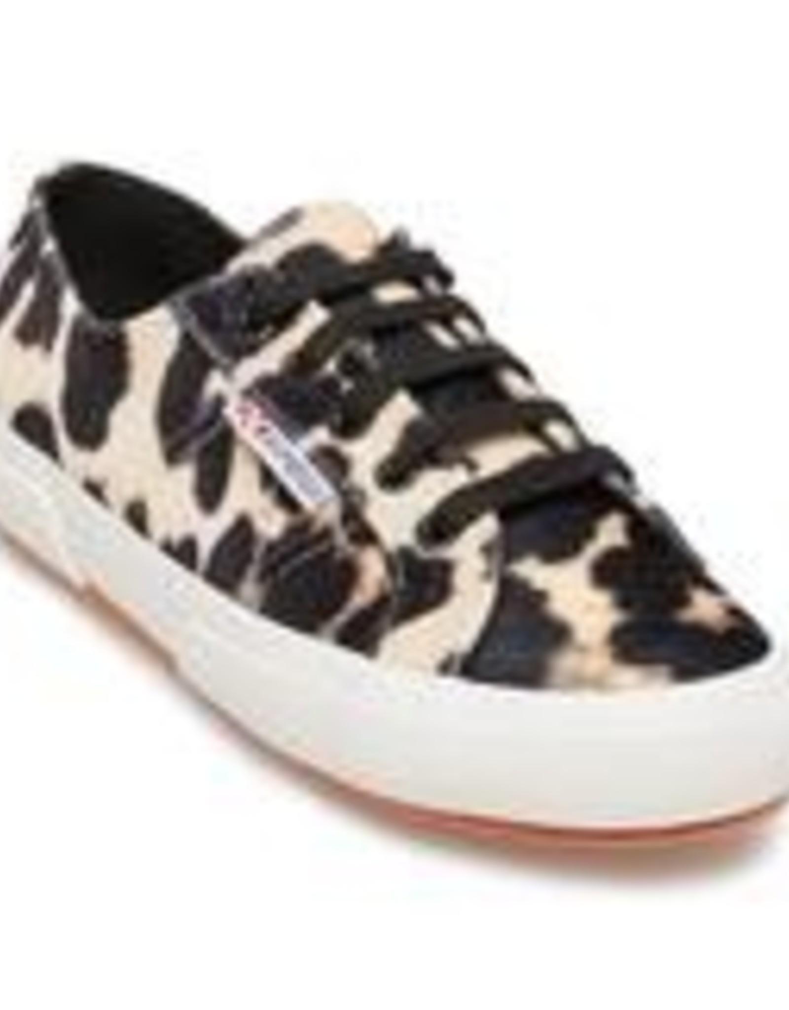 Leopard Velvet Sneaker
