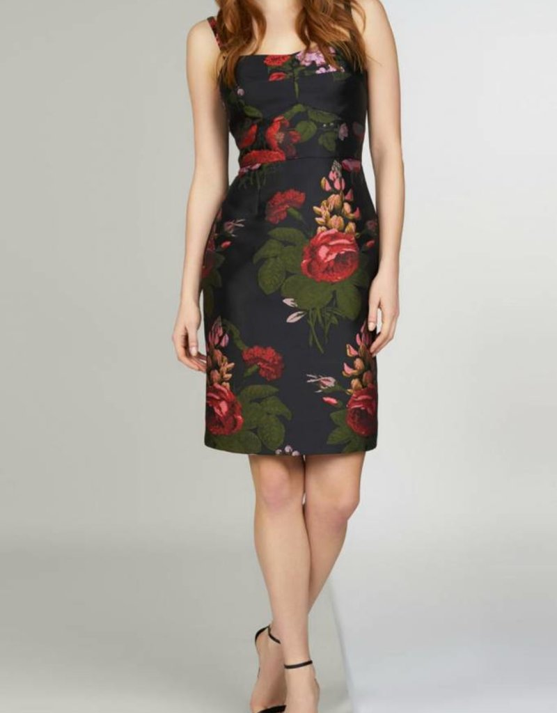 Zoey Floral Sheath Dress