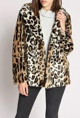 Seeing Spots Faux Coat