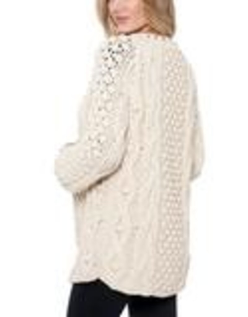 Lucy Cableknit Cardi