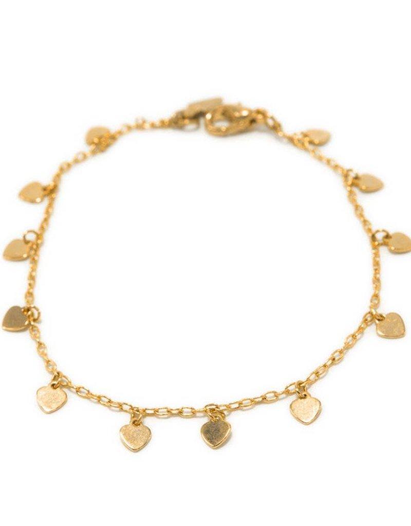 Kemi Designs - Scattered Heart Bracelet