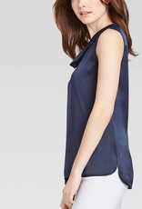 Persephone Shell with drape neck