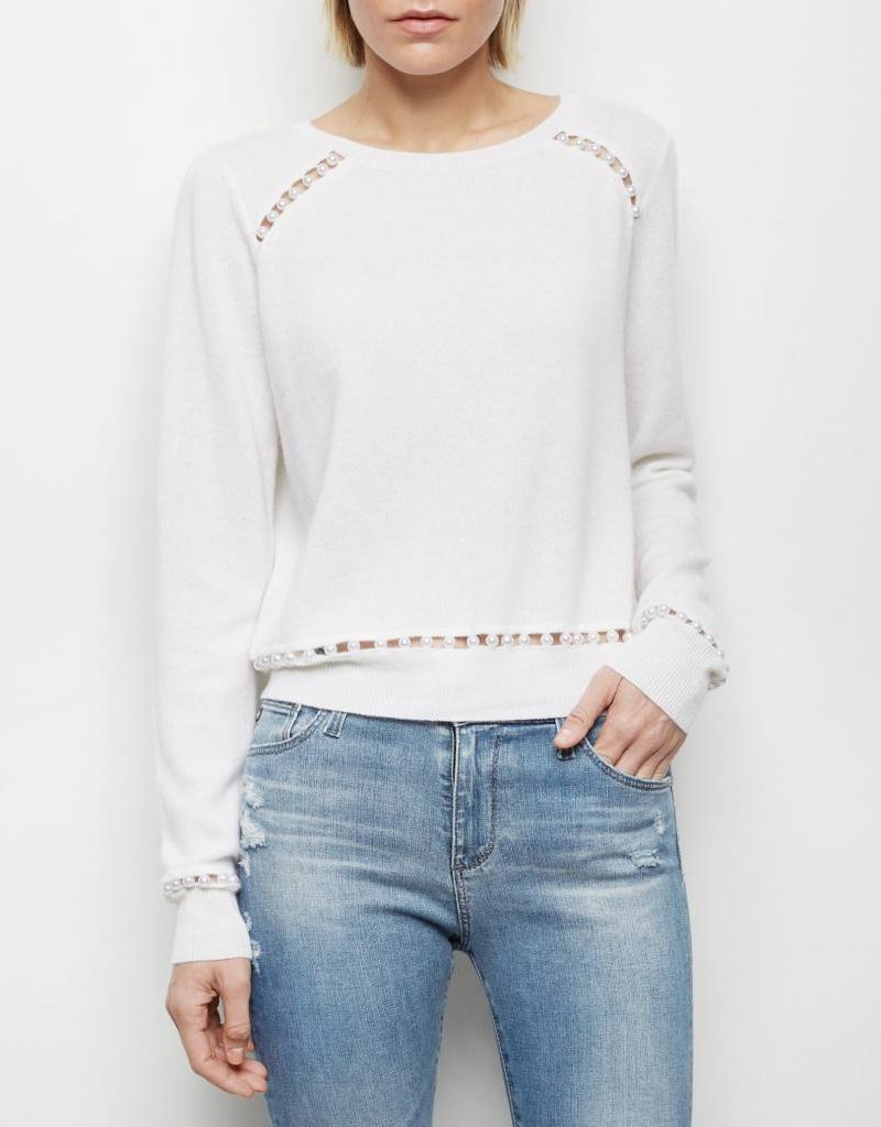 Presley Pearl Cashmere Sweater