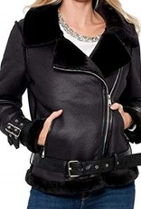 Rita Faux Shearling Jacket