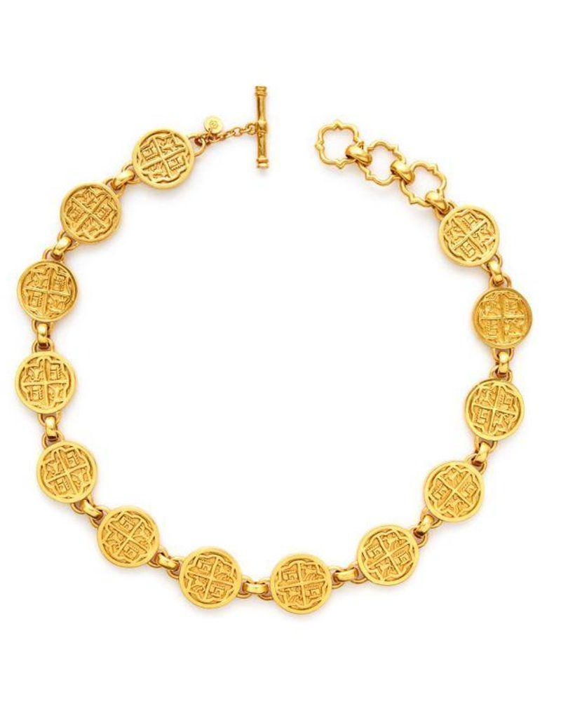 Necklace Gold Coin-N294G00