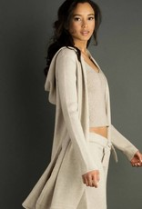 Hooded Duster Sweater