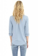 Knit Button Down Shirt