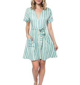 Striped Loriann Dress